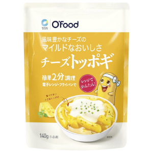 Ofood チーズトッポギ 140g